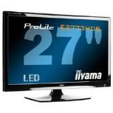 Iiyama ProLite E2773HDS 27 inch LED Backlit LCD Monitor 1200:1 300cd/m2 1920x1080 1ms D-Sub/DVI-D/HD